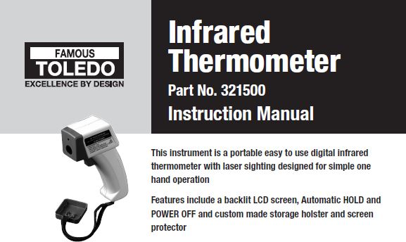 321500 - Infrared thermometer